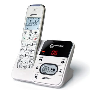Cordless amplified phone